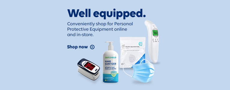 Well equipped. Conveniently shop for Personal Protective Equipment onine and in-store. Shop now
