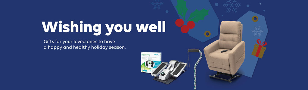 Wishing you well. Gifts for your loved ones to have a happy and healthy holiday season. Click to  shop now.