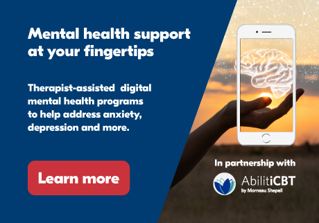 Mental health support at your fingertips