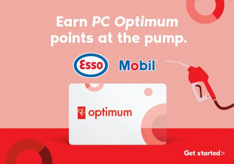 Earn PC Optimum points at the pump. Get Started.