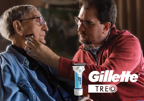 The NEW Gillette TREO Razor. Introducing a razor designed to shave someone else and with caregivers in mind. Discover and shop the innovative Gillette TREO razor today!
