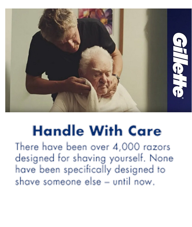 Handle With Care. There have been over 4,000 razors designed for shaving yourself. None have been specifically designed to shave someone else - until now.