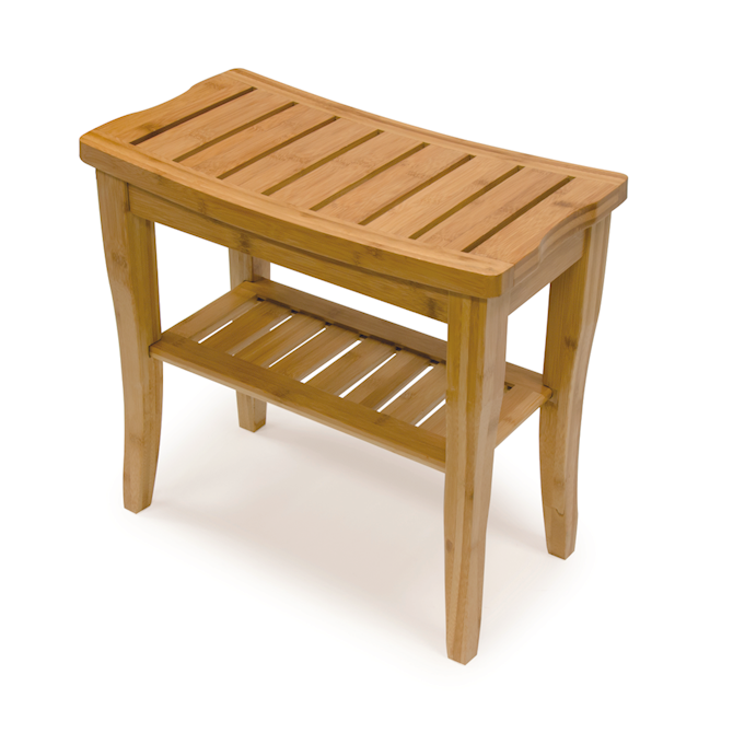 Bios Living Bamboo Shower Bench