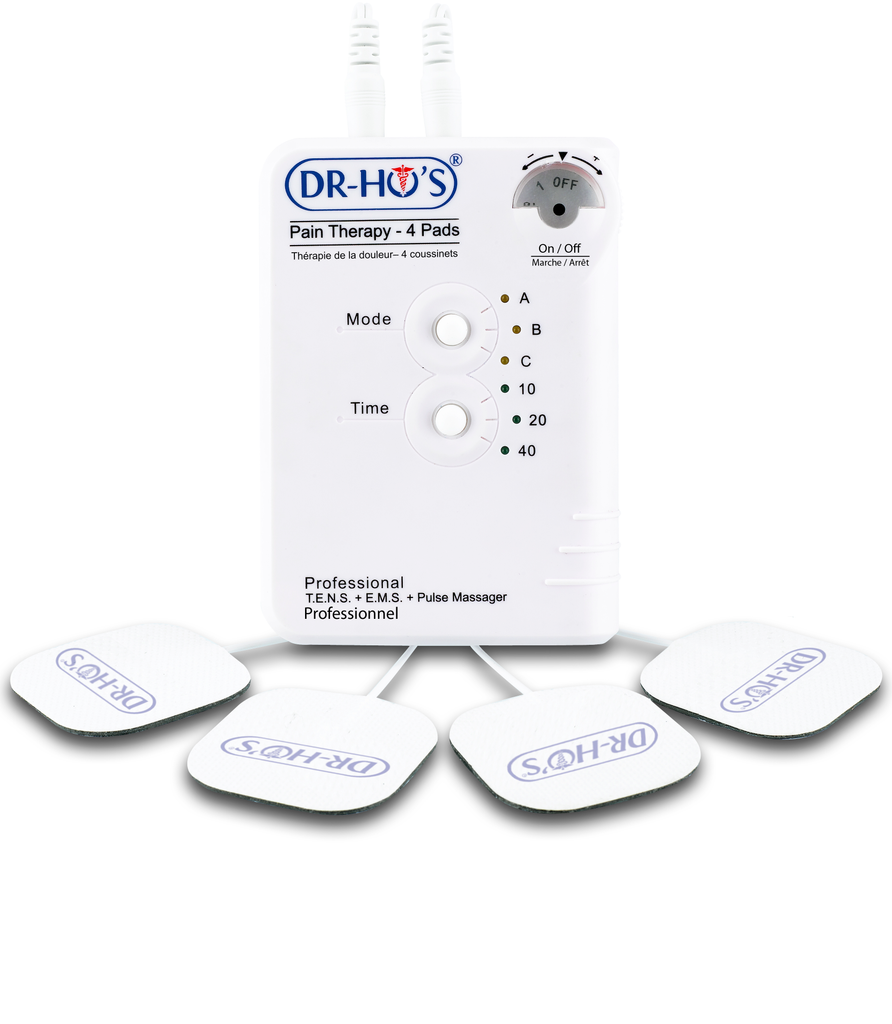 Dr Ho S Pain Therapy System 4 Pads T E N S