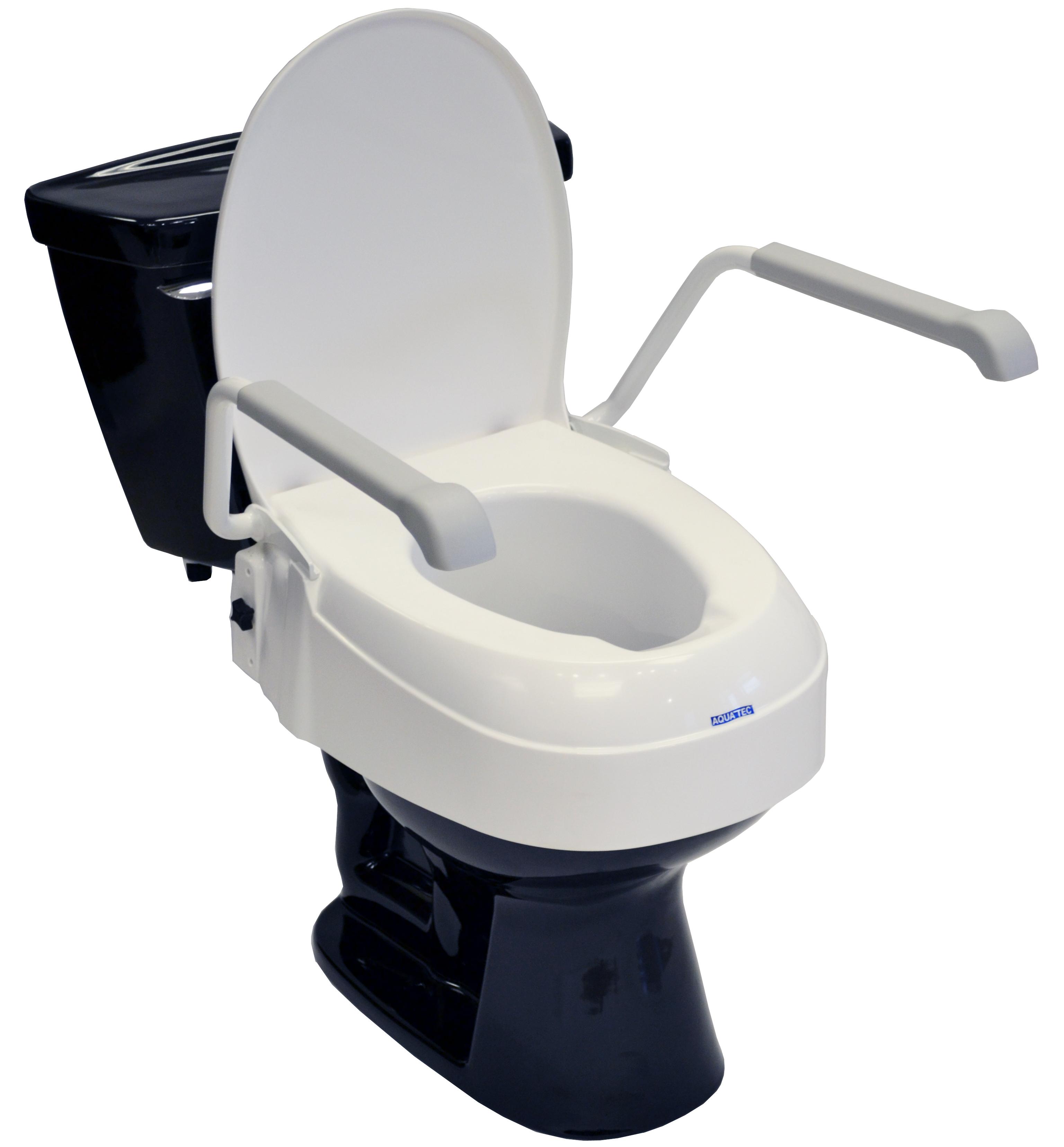 Aquatec A900 Adjustable Toilet Seat Riser