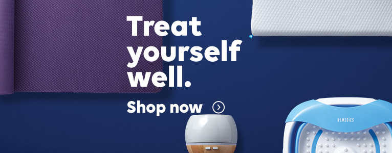 Treat yourself well, shop now